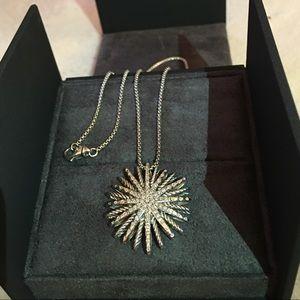 David Yurman Starburst Diamond Large Pendant